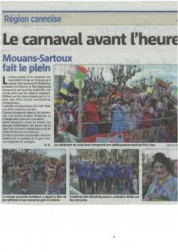 NICE MATIN ( carnaval 2015)
