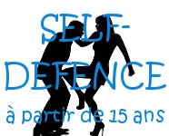 Inscription Self-défense