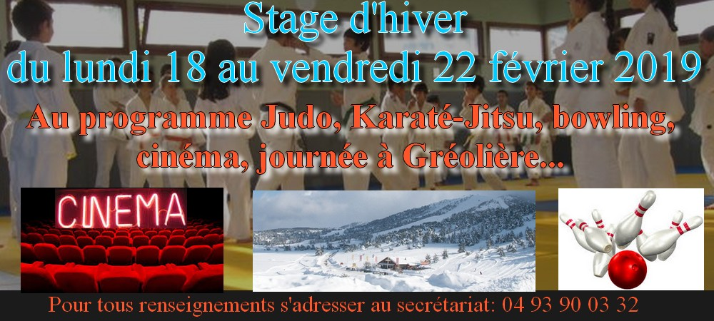 STAGE MULTISPORTS D'HIVER