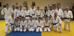 Entraînement avec le Judo Club de Bar sur Loup le 5 avril 2019