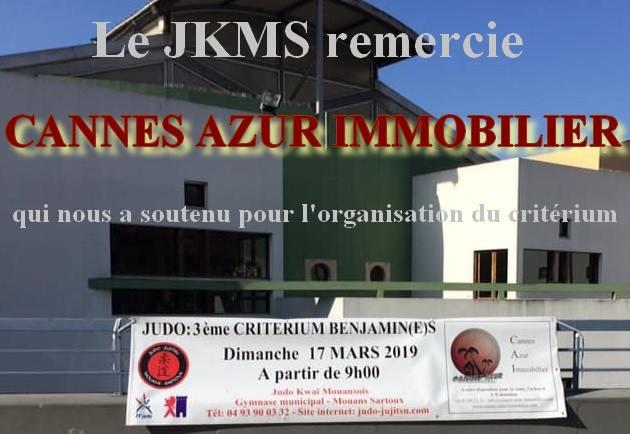 3ème Critérium Benjamins à Mouans-Sartoux